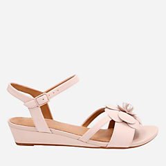 Parram Stella Dusty Pink Nubuck womens-sandals-wedge