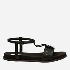 Agean Cool Black Interest womens-flat-sandals