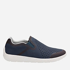Torset Easy Navy Textile mens-loafer-slip-on