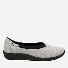 Sillian Jetay Grey Heathered Fabric womens-cloudsteppers-view-all