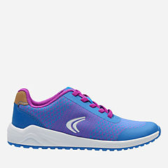 Frisby Fun Youth Blue Combi girls-sneakers