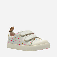 Halcy Hati First Cotton Combi Canvas girls-sneakers