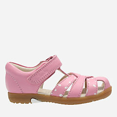 Softly Mae First Vintage Pink Leather girls-junior