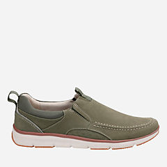 Orson Row Olive Nubuck mens-loafer-slip-on
