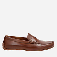 Reazor Drive Tan Leather mens-casual-shoes