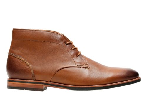 Broyd Mid Tan Leather mens-dress-boots