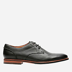 Broyd Walk Black Leather mens-oxfords-lace-ups
