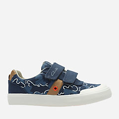 Comic Zone Toddler Navy Canvas boys-sneakers