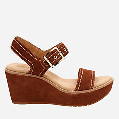 Aisley Orchid Dark Tan Suede womens-sandals-wedge