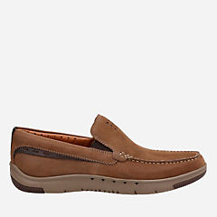 Unmaslow Easy Brown Tumbled Nubuck mens-unstructured