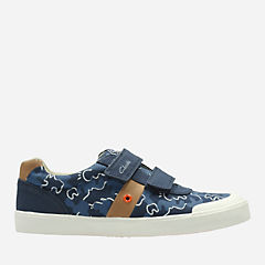 Comic Zone Youth Navy Canvas boys-junior