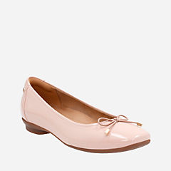 Candra Light Dusty Pink Patent womens-flats