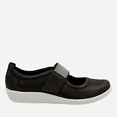Sillian Cala Black Synthetic Nubuck womens-maryjanes