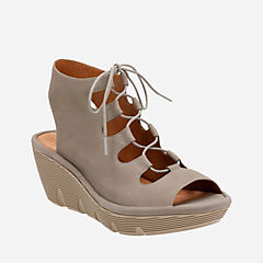 Clarene Grace Sage Nubuck womens-sandals-wedge