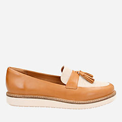 Glick Castine Light Tan Leather womens-sport-inspired