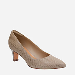 Crewso Wick Sage Suede Snake Print womens-collection