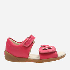 Kiana Sun First Pink Leather girls-toddler