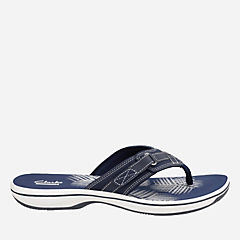 Breeze Sea Navy Synthetic womens-flip-flops-sandals