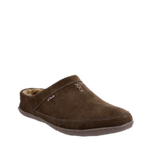 Clarks Mens Tyree Porter Slippers
