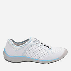 Asney Lace Light Grey Nubuck womens-active