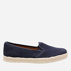 Azella Theoni Navy Suede womens-collection