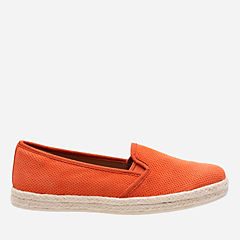 Azella Theoni Orange Suede womens-collection