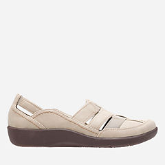 Sillian Stork Sand Synthetic Nubuck womens-collection