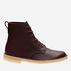 Desert Mali Burgundy Tumbled Leather mens-boots