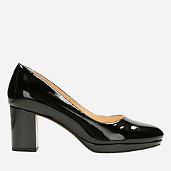 Kelda Hope Black Patent womens-heels