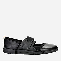 Tri Libra Black Leather womens-active