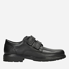 Remi Pace Youth Black Leather boys-shoes