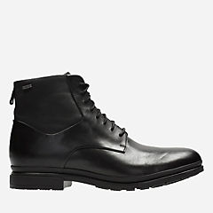 London Pace GTX Black Leather mens-casual-boots