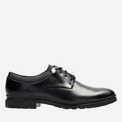London Map Black mens-oxfords-lace-ups
