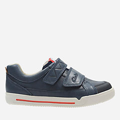 Lilfolk Toby Toddler Navy Leather boys-shoes