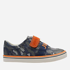 Comic Free Toddler Navy Canvas boys-sneakers