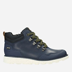 Dexy Hi GTX Youth Navy Leather boys-boots