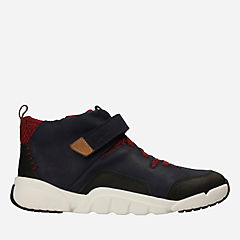Tri Mimo Jnr Navy Leather boys-boots