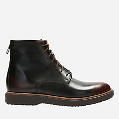 Modur Hi Dark Tan Leather mens-casual-boots