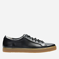 Calderon Lo Black Leather mens-casual-shoes