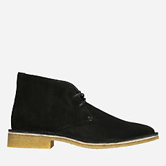 Friya Desert Black Suede originals-womens-boots