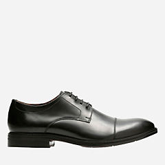 Mckewen Cap Black Leather mens-shoes