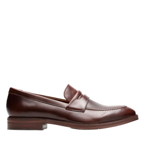 Mckewen Step Mahogany Leather mens-shoes