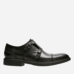 Cordis Style Black Leather mens-loafer-slip-on