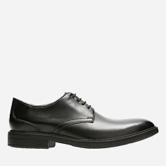 Cordis Plain Black Leather mens-oxfords-lace-ups