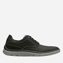 Tunsil Plain Black mens-casual-shoes