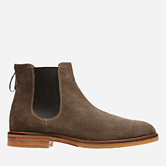 Clarkdale Gobi Olive Suede mens-casual-boots