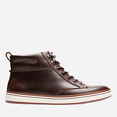 Norsen Mid Dark Tan Leather mens-casual-boots