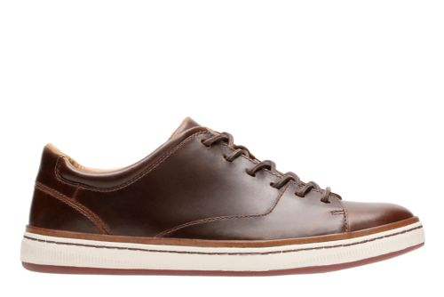 Norsen Lace Dark Tan Leather mens-oxfords-lace-ups