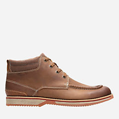 Katchur Top Dark Tan Nubuck mens-casual-boots