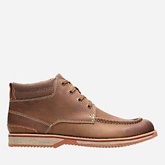 Clarks Calderon Lo Leather Shoes
